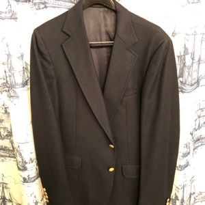 Vintage Stanley Blacker Sport Coat Blue 44L